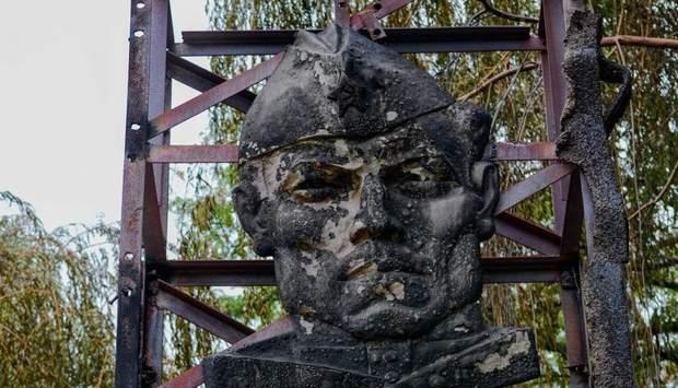 Макіївка монумент підпал пожежа СРСР шахтарі
