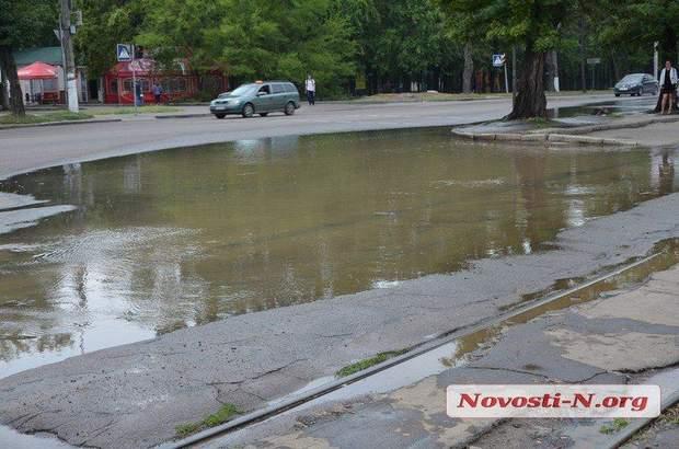 Миколаїв вода прорвало рубопровід