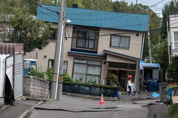 Японія, землетрус, Хоккайдо