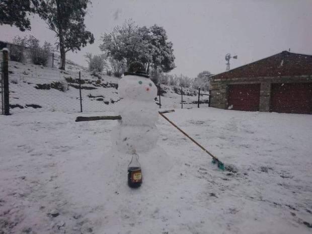 Сніг, Африка
