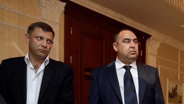 ОРДЛО Захарченко Плотницький