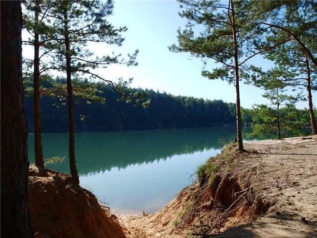 голубі озера