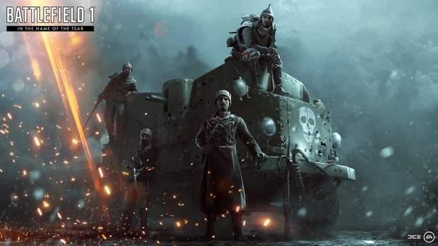 Скріншот з гри Battlefield 1