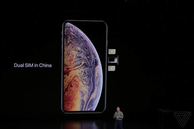 iPhone XS отримає підтримку двох SIM-карт