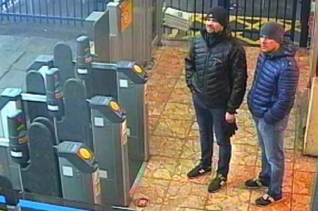 Петров і Боширов у Солсбері