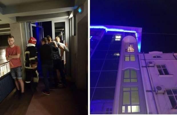 Тернопіль ресторан випав з тераси