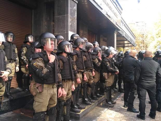 поліція ГПУ сутички протести