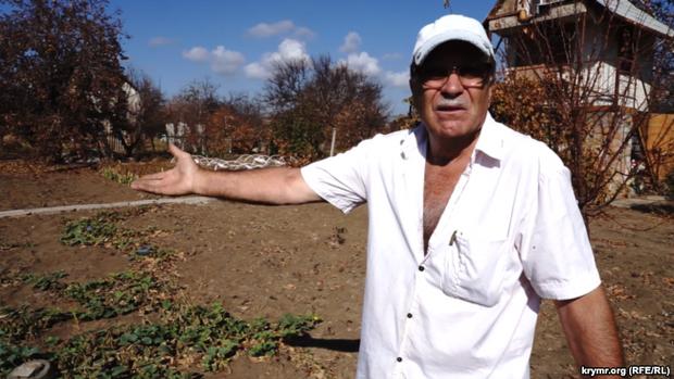 Василий Кондратенко рассказывает о том, что весь урожай сгорел