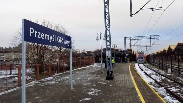 Главный вокзал Пшемысля