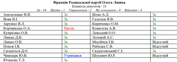 Рада ЦВК Радикальна Партія