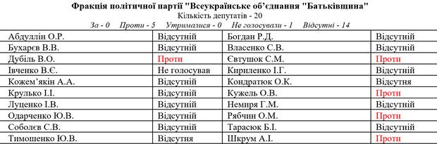 Верховна Рада ЦВК Батьківщина