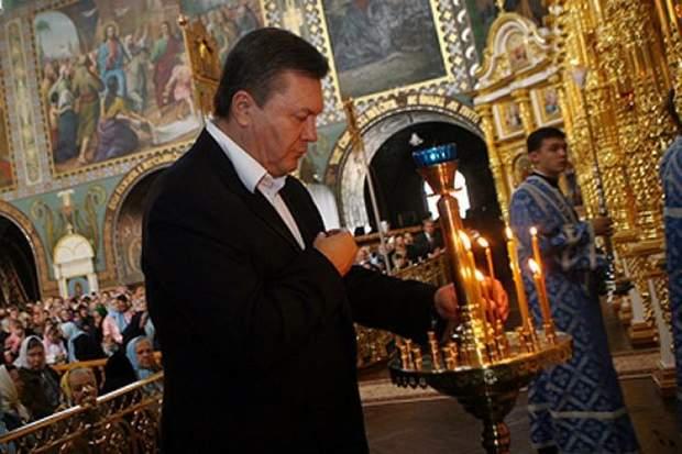 Янукович Єдина помісна церква