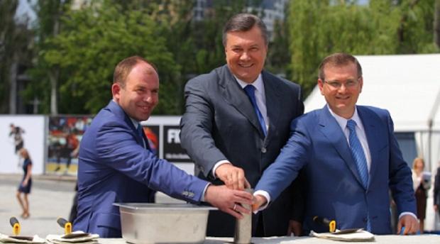 Вілкул, Колесников, Янукович