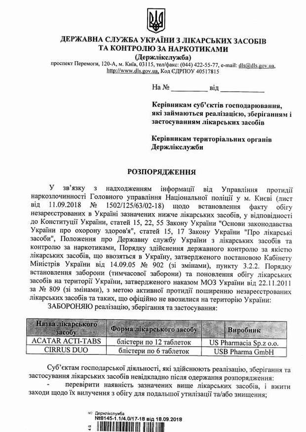 В Україні заборонили ліки від нежитю