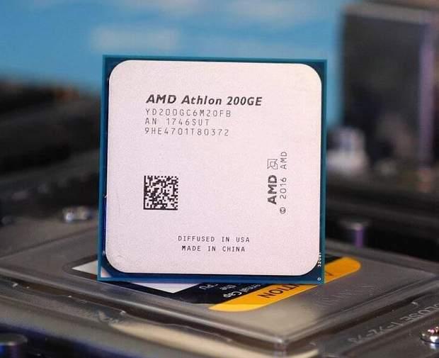 Процесор AMD Athlon 200GE