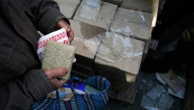 Жители Донбасса уже перестали радоваться адресной помощи близких