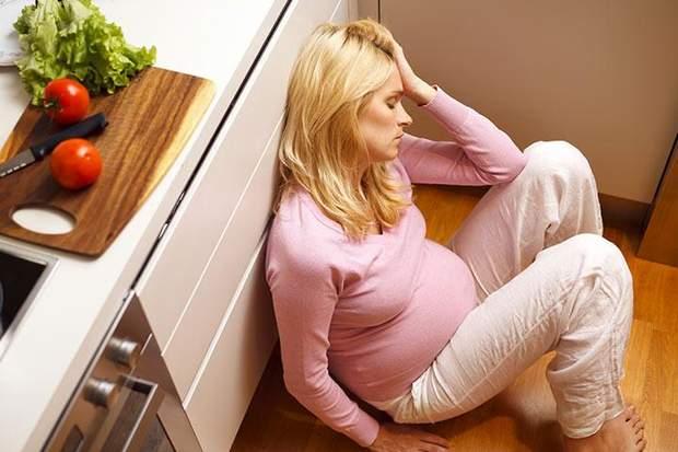 Стрес під час вагітності: шкода