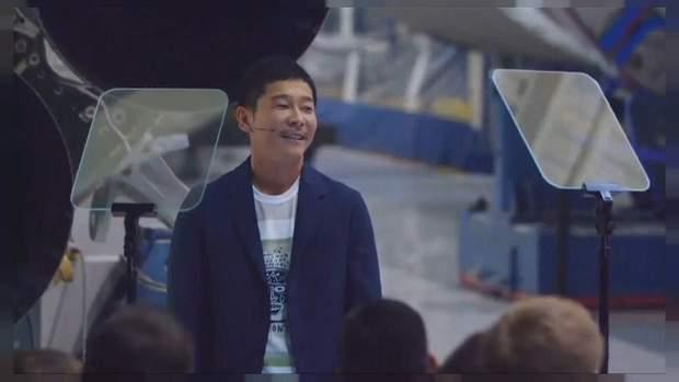 Японский миллиардер Ясако Маедзава