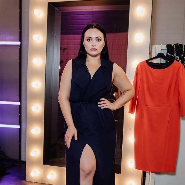 Учасниця Модель XL 2 сезон Катерина Ващук