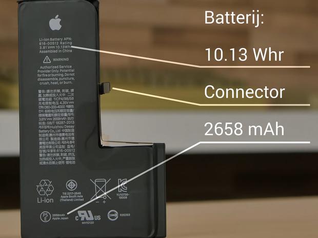 Акумулятор iPhone XS