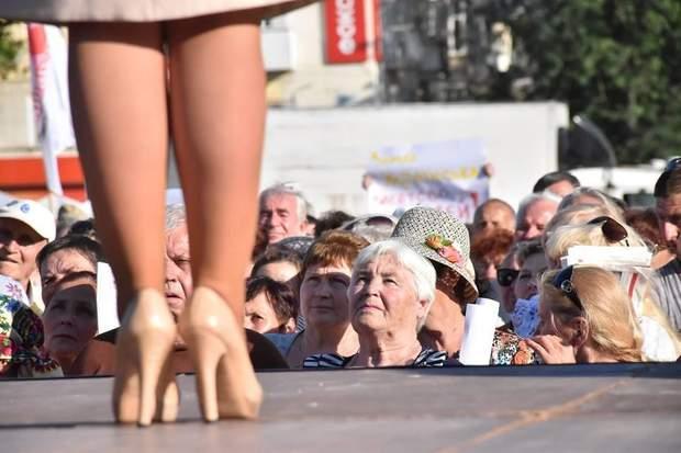 тимошенко в дорогому взутті