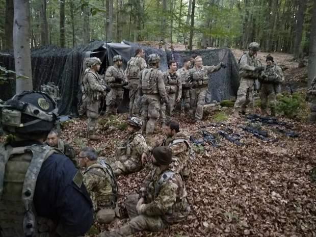 ЗСУ, десантники, Saber Junction, навчання, США, Італія