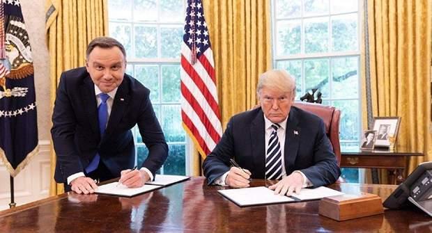 Дуда і Трамп підписують декларацію про стратегічне партнерство