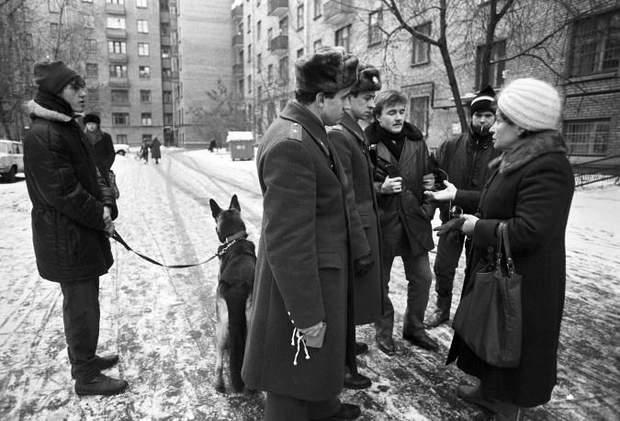 Дружинники в СРСР