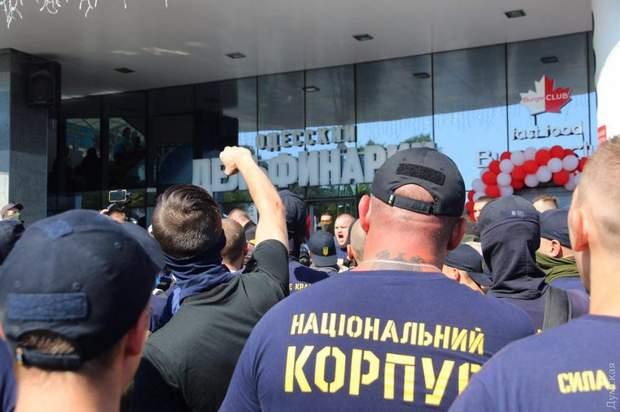 Сутички, поліція, активісти, Ланжерон, Одеса, протести, забудова
