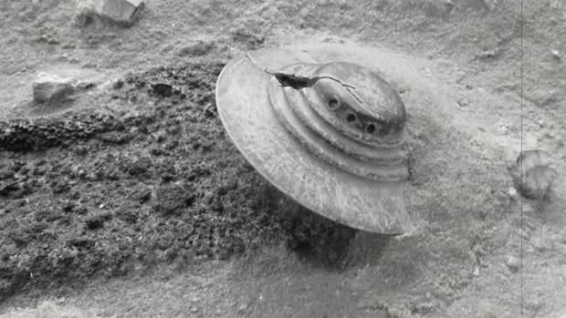 Історія про падіння НЛО, що пов'язана з базою