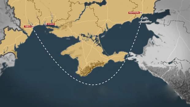 Операція з кораблями за задумом Українського командування ВМС