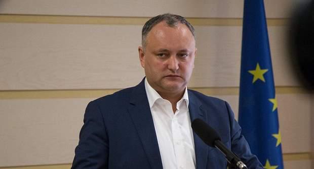 Президент Молдови Ігор Дідон