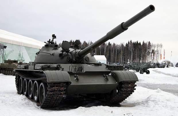 Спустя 37 лет Россия все еще использует Т 62