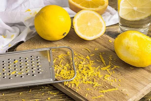 Цедра лимона для шкіри