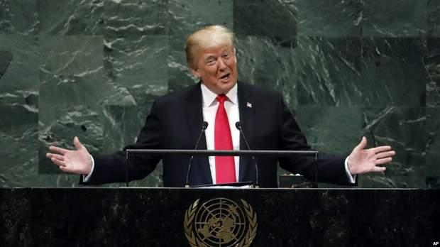 Дональд Трамп на Генасамблеї ООН