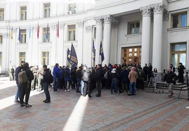 Мітинг під МЗС посол Угорщина Клімкін