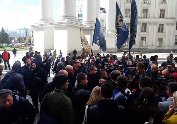 Мітинг МЗС протести Клімкін посол Угорщина Закарпаття