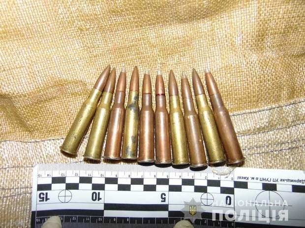 Зброя, Київ, поліція