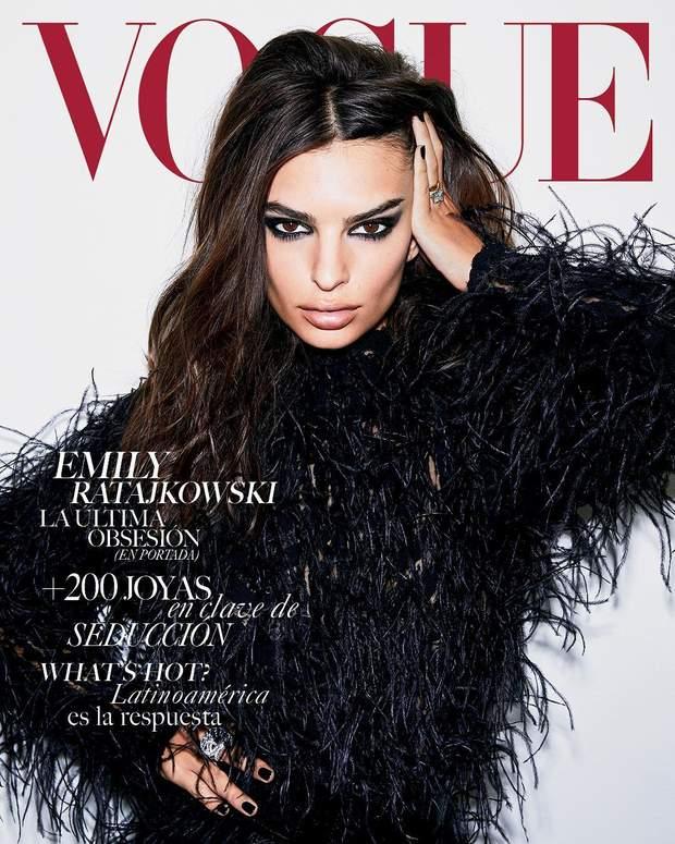 Емілі Ратажковскі для Vogue Mexico