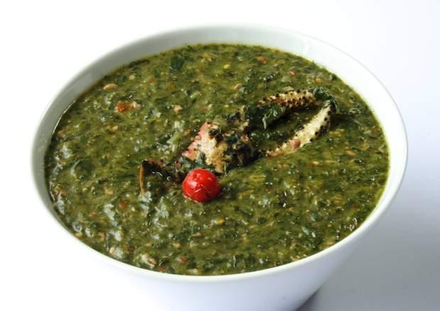 Суп каллалу (callaloo)