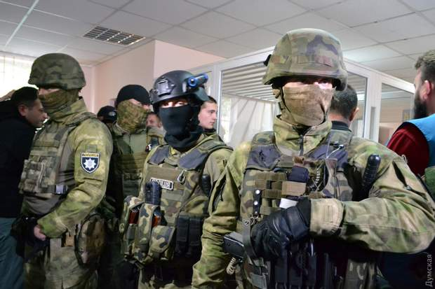 Суд Одеса поліція КОРД Михайлик