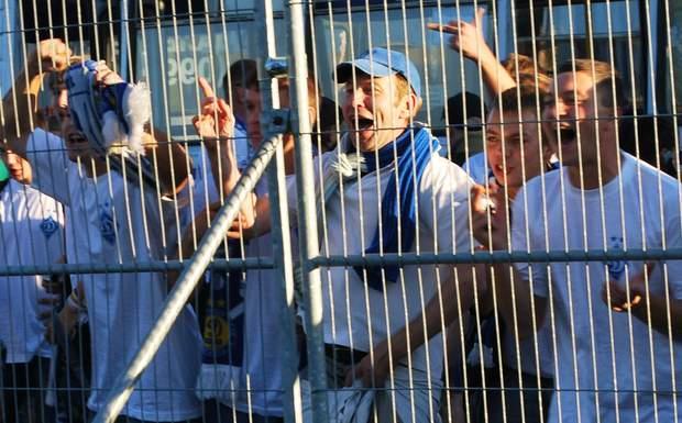 В'ячеслав Зінькевич серед фанатів
