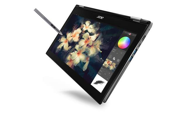 Acer представила в Україні ноутбуки-трансформери