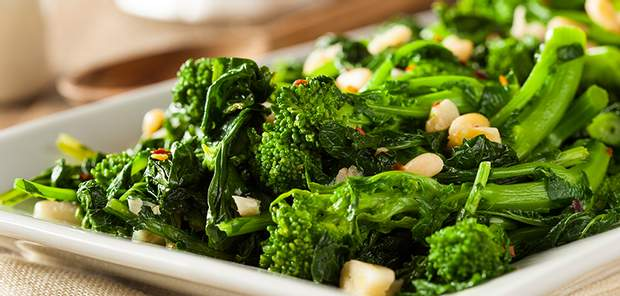 Зелені овочі