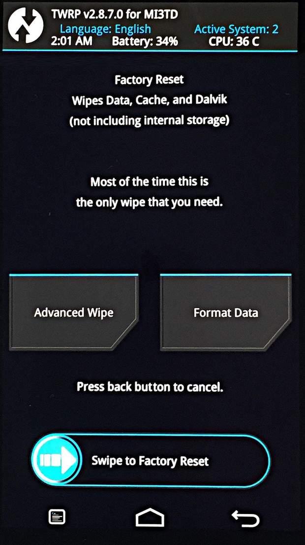 Як правильно скинути смартфон до заводських налаштувань