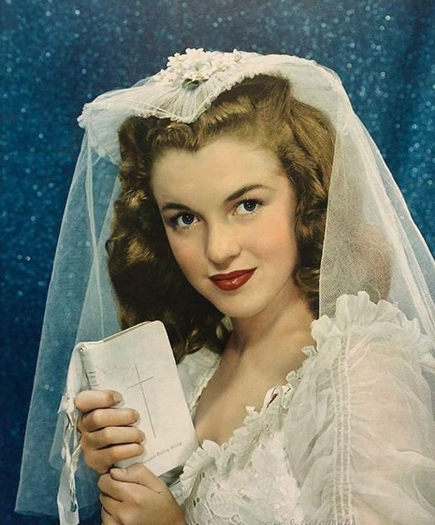 Монро і день її весілля