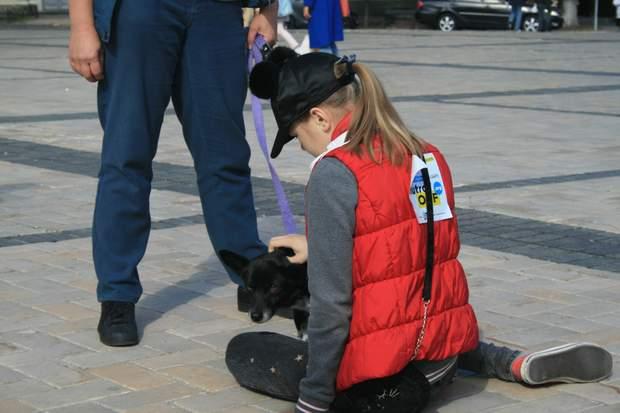 Марш за права тварин у Києві 30 вересня 2018