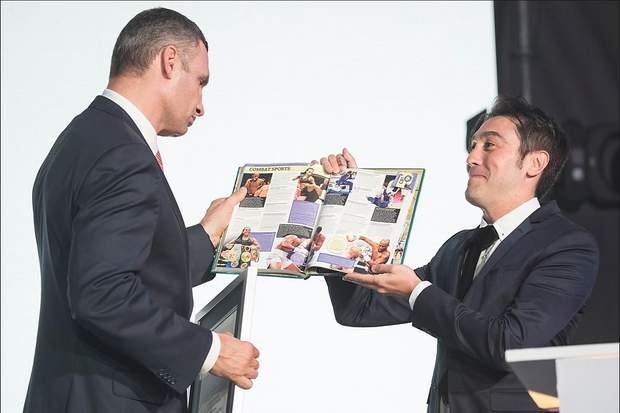 Кличко книга рекордів Гіннеса