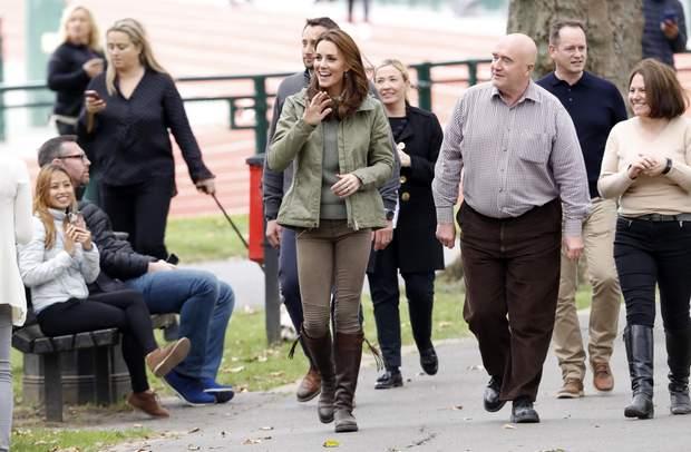Кейт Міддлтон з'явилась на публіці після декретної відпустки