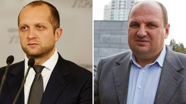 Максим Поляков і Борислав Розенблат